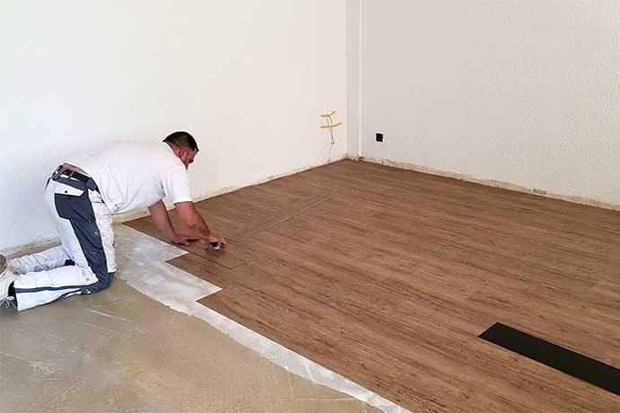 Vinylboden in Holzoptik